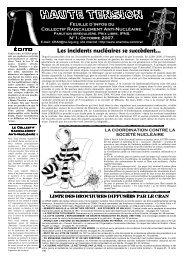 feuille d'info CRAN N°1 octobre 2007 - Non Fides
