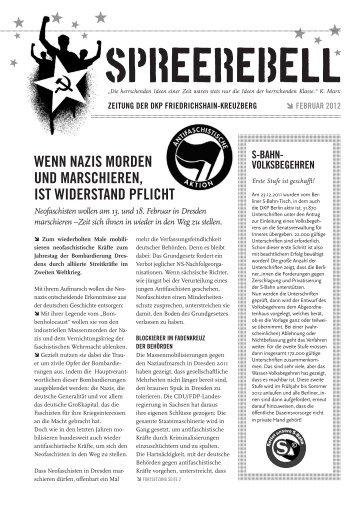 Ausgabe Februar 2012 - DKP Friedrichshain-Kreuzberg - blogsport.de