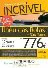 + São Tomé - Terra Brasil
