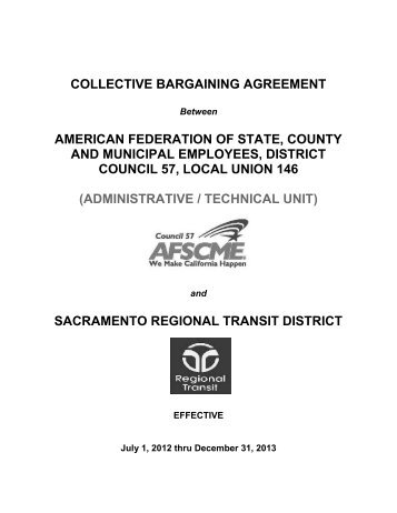 Administrative Technical Unit Contract