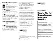 How to File for Unemployment Insurance Benefits