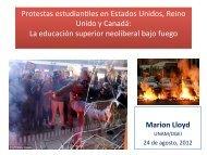 La educación - Seminario de Educación Superior de la UNAM