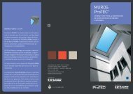 MUROS ProTEC® - TCLEAR Latina Corporation