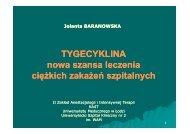 Wykład wygłoszony w czasie posiedzenia Oddziału Łódzkiego PTAiIT