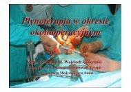 Płynoterapia w okresie okołooperacyjnym [10,3 MB]. Autor