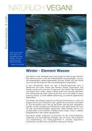 Kochworkshop Element Wasser - Nora Baldauf - Heilpraktikerin