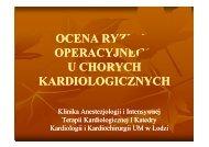 Ocena ryzyka operacyjnego u chorych kardiologicznych [2,25 MB].