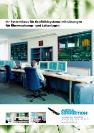 Example: Lufthansa Systems Enterprise Operation Centre - Eyevis