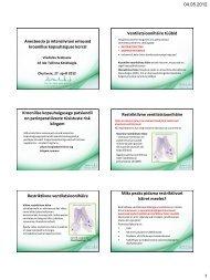 Anesteesia ja intensiivravi erisused kroonilise kopsuhaiguse korral ...