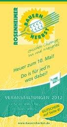 Kalender 2012 - Download - rosenheimer bauernherbst