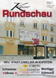 Ausgabe 1 / 2012 11. Jahrgang - Die Kaiserrundschau