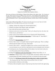 Outline of Practices and Readings References