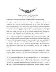 1 Religious Gatheka – Hazrat Inayat Khan 36. Belief and Disbelief in ...