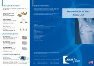 Accessories for NORAS Biopsy Unit - NORAS MRI products GmbH