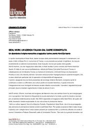 un'azienda italiana dal cuore cosmopolita ideal work: un'azienda ...
