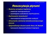 Preparaty hydroksyetylowanej skrobii jako istotny element leczenia ...