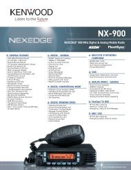 NX-900 Brochure - Advanced Wireless Communications