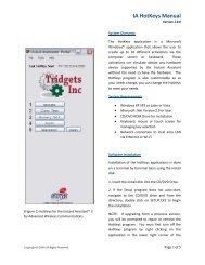 HotKeys Installation Manual - Advanced Wireless Communications