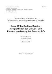 Green IT im Desktop Bereich - Mo127 oglichkeiten zur ... - Bitbucket