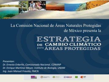 Estrategia de cambio climático para áreas protegidas - Conanp