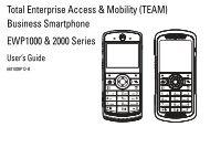 EWP-1000 User Guide - Advanced Wireless Communications