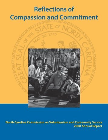 Ref lections of Compassion and Commitment - North Carolina ...