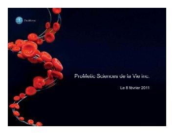bioéquivalence pour les clients de NewCo - Prometic - Life Science ...