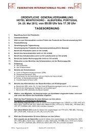 FIFe Generalversammlung 2012 - NRR