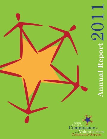 Annual Report - North Carolina Commission on Volunteerism ...
