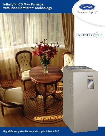 Infinity™ ICS Gas Furnace with IdealComfort ... - Ray Electric Ltd.