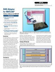 DAQ Adaptor for MATLAB® - Acoutronic.se
