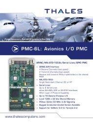 PMC-6L: Avionics I/O PMC - Acoutronic.se