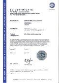 EG Zertifikat - NORAS MRI products GmbH - Page 2