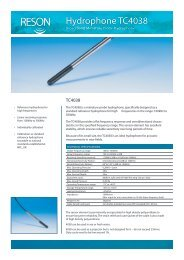 Hydrophone TC4038 - Teledyne Reson