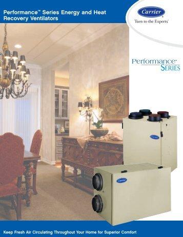 Energy Recovery Ventilator - Ogrzewanie Nadmuchowe