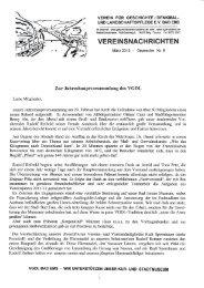 Vereinsnachrichten März 2012 (Neue Folge) - Verein für Geschichte ...