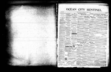 Telephone Trade - On-Line Newspaper Archives of Ocean City