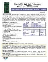 Themis TPA-XMC High-Performance Low-Power ... - Acoutronic.se