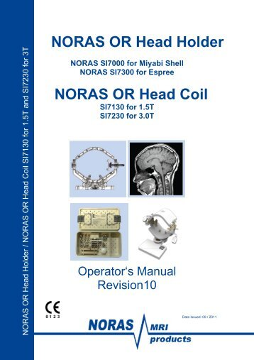 NORAS OR Head Holder NORAS OR Head Coil - NORAS MRI ...