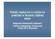 Pakiety septyczne a codzienna praktyka w leczeniu ciężkiej sepsy