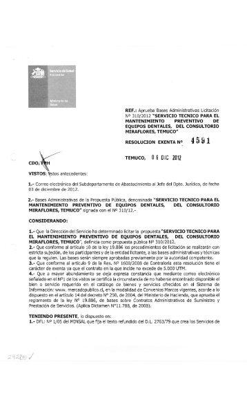 SERVICIO TECNICO PARA EL MANTENIMIENTO PREVENTIVO DE ...