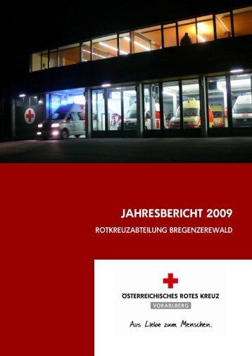 JAHRESBERICHT 2009 - Bregenzerwald-news.at