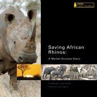 Saving African Rhinos final