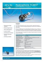 Hydrophone TC4037 - Teledyne Reson