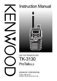 TK-3130 Instruction Manual - Advanced Wireless Communications