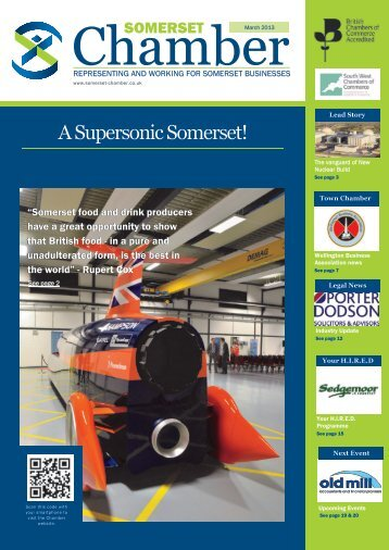 Download Marchs Magazine here - Somerset Chamber of Commerce