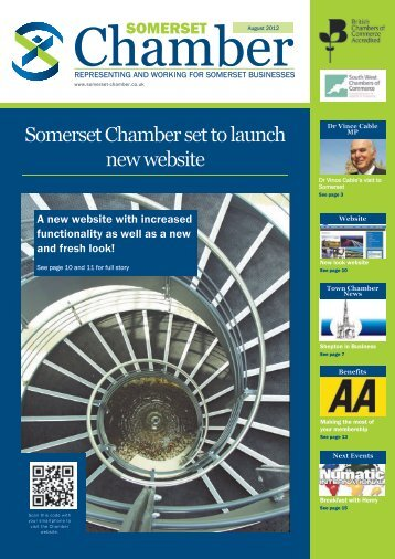 August edition of the Somerset Chamber magazine
