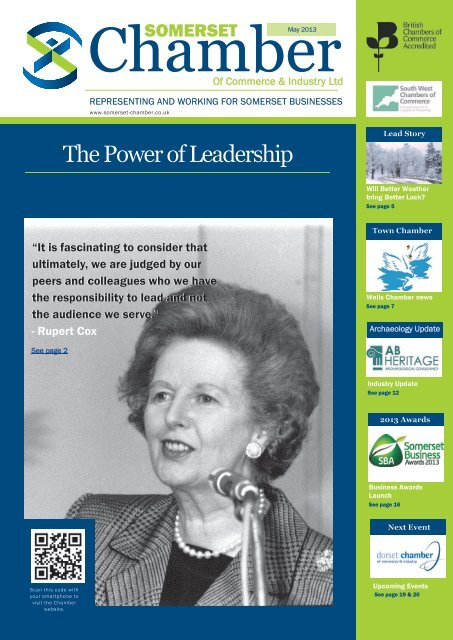 Read May 2013 Chamber News - Somerset Chamber of Commerce