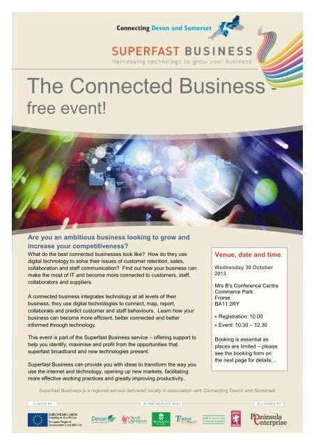 Download the event form here - Somerset Chamber of Commerce