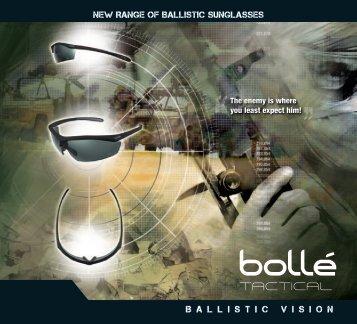 Brochure Tactical Sunglasses - Bollé Safety